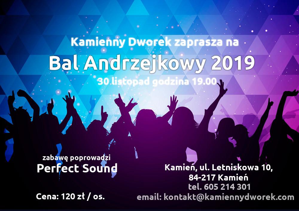 Taneczna impreza Andrzejkowa w Kamiennym Dworku 2019
